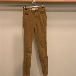 RSQ Tan Corduroy Pants
